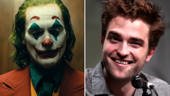 Joker Joaquin Phoenix Robert Pattinson Batman Todd Phillips