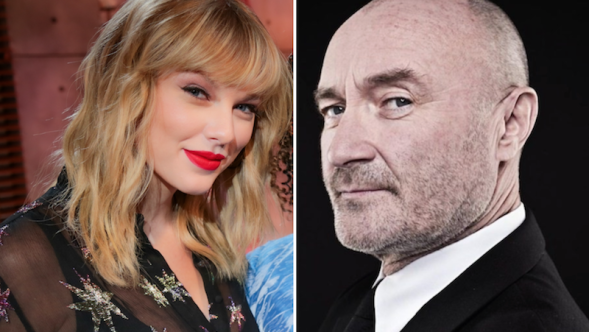 Phil Collins Taylor Swift BBC Radio 1 Live Lounge Can't Stop Loving You Cover