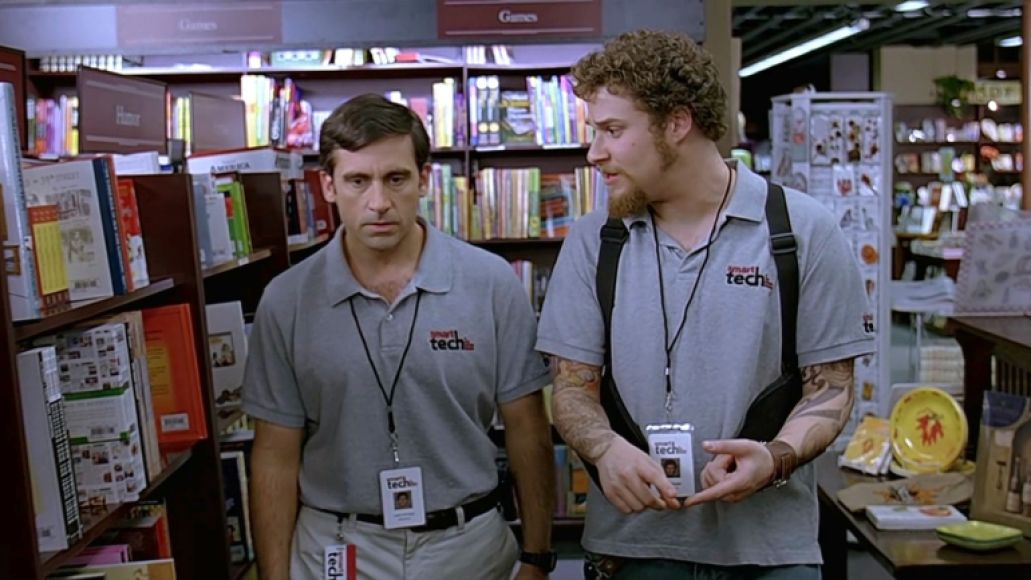 Seth Rogan in The 40-Year-Old Virgin, Universal