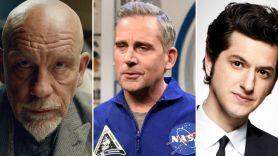 John Malkovich, Steve Carell, and Ben Schwartz