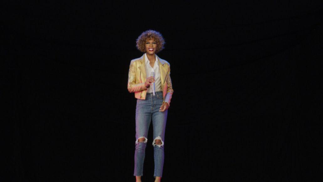 Whitney Houston hologramWhitney Houston hologram