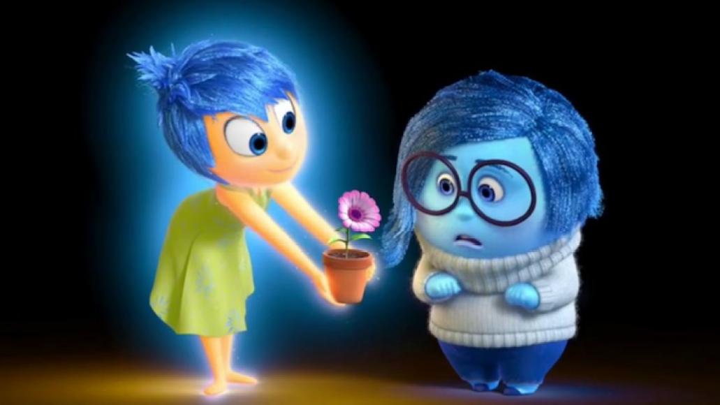 joy sadness inside out pixar