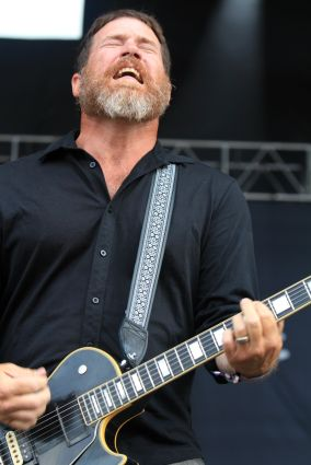 Hot Water Music at Riot Fest 2019, photo by Heather Kaplan