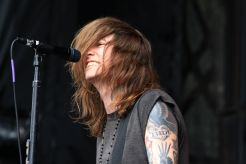 Against Me! at Riot Fest 2019, photo by Heather Kaplan