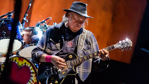 neil young new mama live video harvest moon