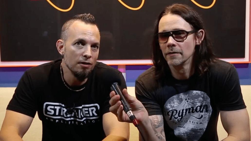 Alter Bridge video interview