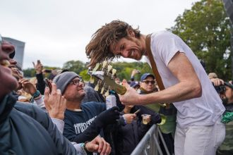 Black Pistol Fire at Austin City Limits 2019, photo by Amy Price