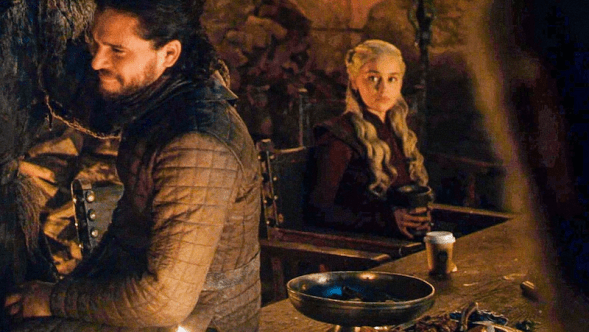 Emilia Clarke Jimmy Fallon Game of Thrones Coffee Cup Varys Conleth Hill