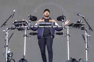 Jai Wolf at Austin City Limits 2019, photo by Amy Price