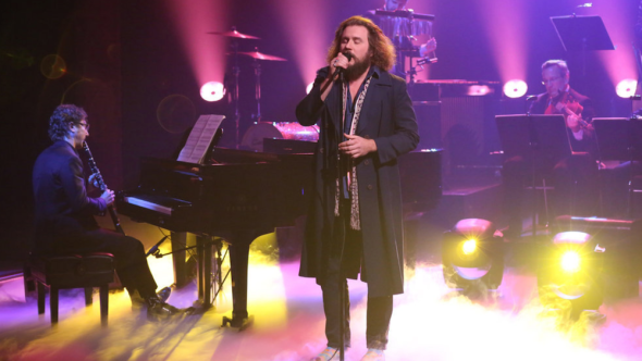 Jim James Teddy Abrams The Louisville Orchestra The Tonight Show Starring Jimmy Fallon Andrew Lipvosky NBC Back to the End of the World