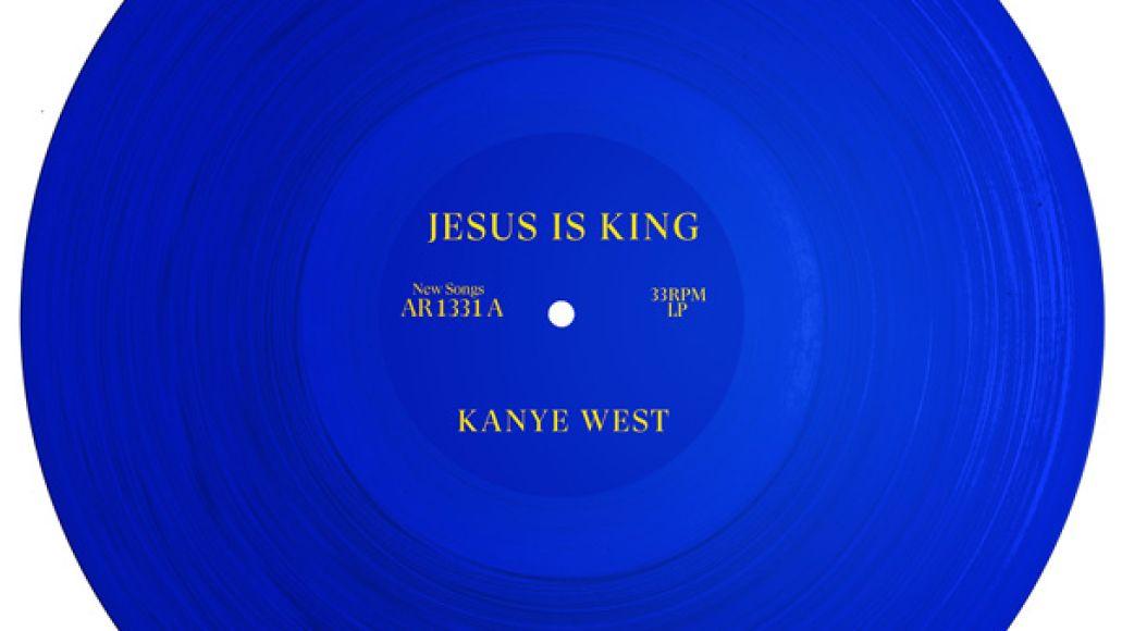 Kanye Jesus is King Artwork