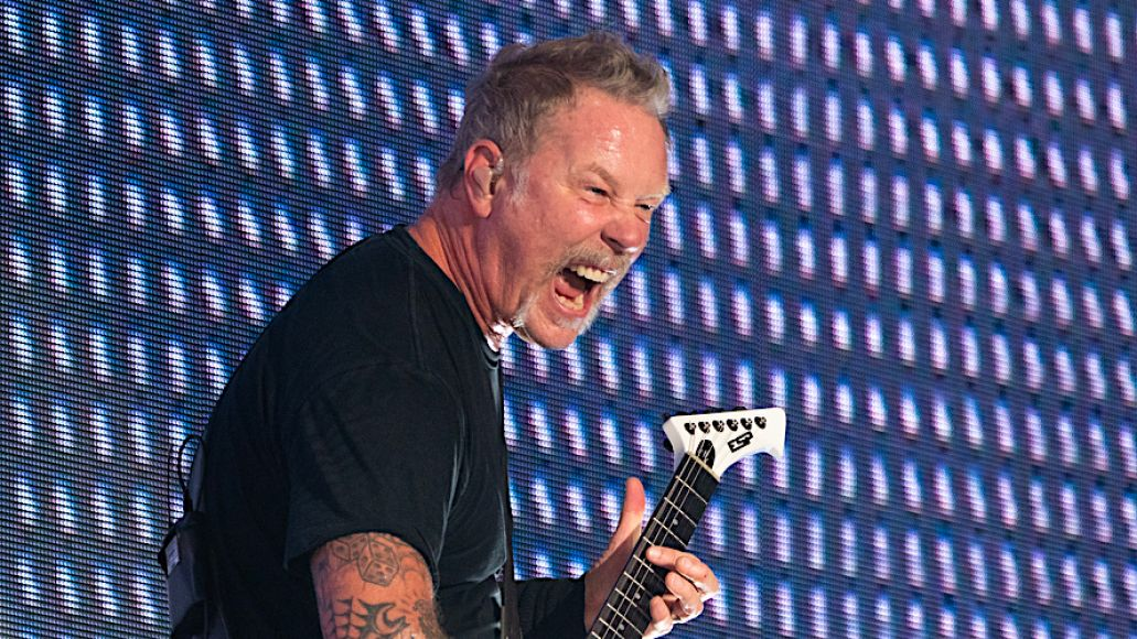 Metallica headline 5 US festivals in 2020