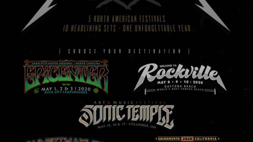 Metallica Danny Wimmer Fests Poster