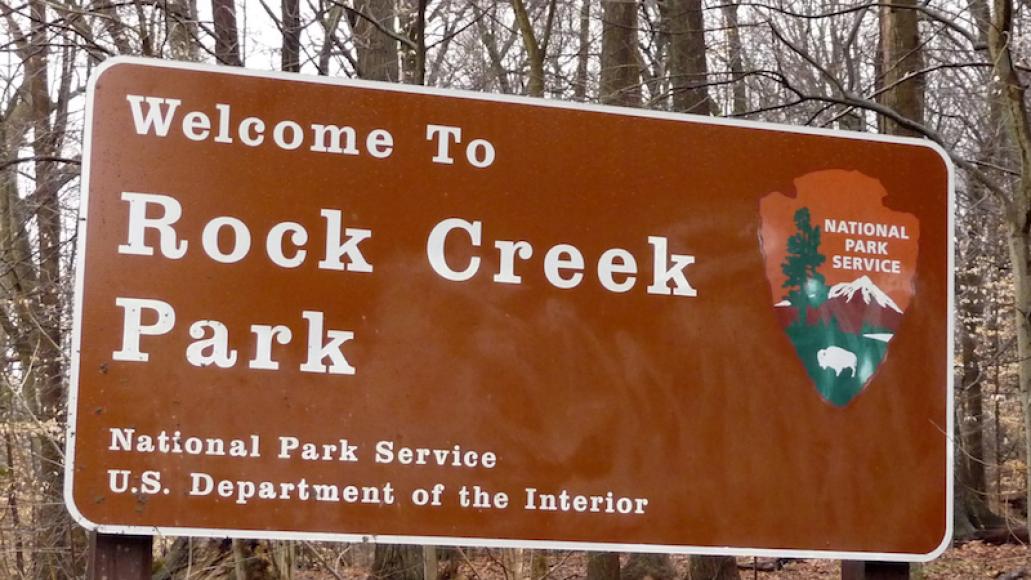 Rock Creek Park photo via wikicommons