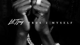 True 2 Myself by Lil Tjay tracklist album artwork cover