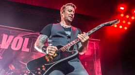 Volbeat walk off stage in Belfast