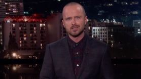 Aaron Paul recaps Breaking Bad on Kimmel
