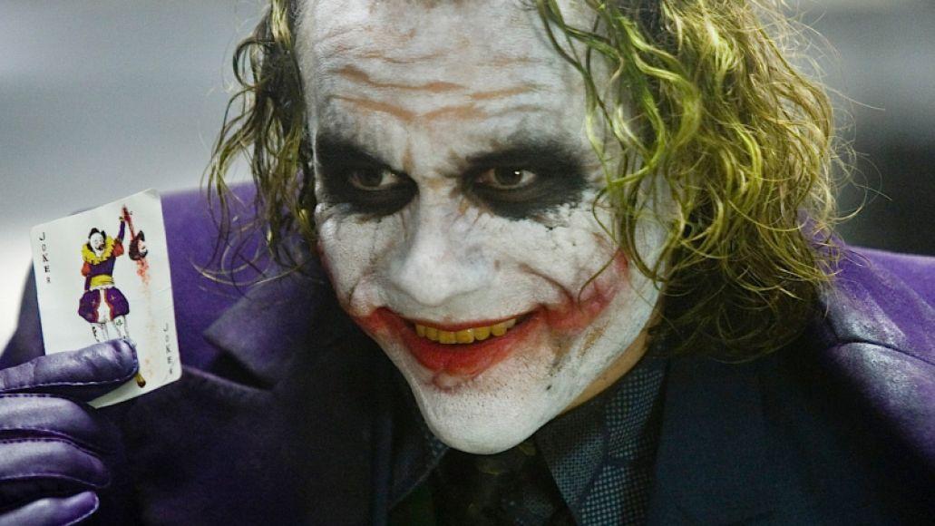 Heath Ledger in The Dark Knight (Warner Bros.)