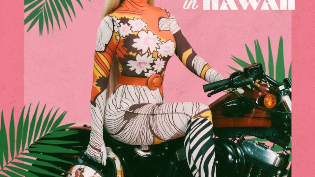 katy perry harleys hawaii artwork Katy Perry rides Harleys in Hawaii on new song: Stream