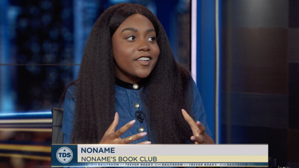 noname book club daily show interview