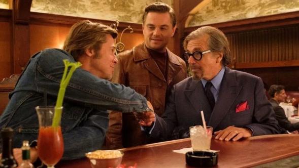 Once Upon a Time in Hollywood, Quentin Tarantino, Al Pacino, Leonardo DiCaprio, Brad Pitt, Al Pacino