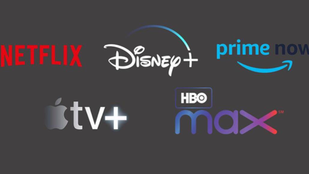 Netflix, Disney, Apple TV, HBO, Amazon Prime