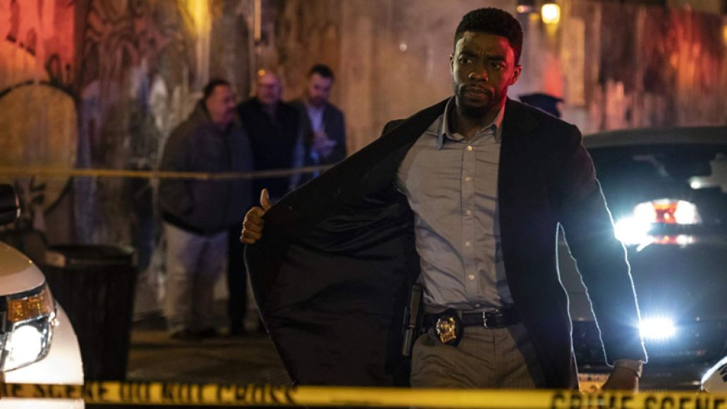 Chadwick Boseman in 21 Bridges (STXfilms)