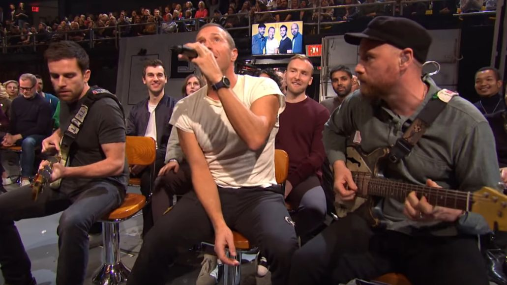 Coldplay on SNL