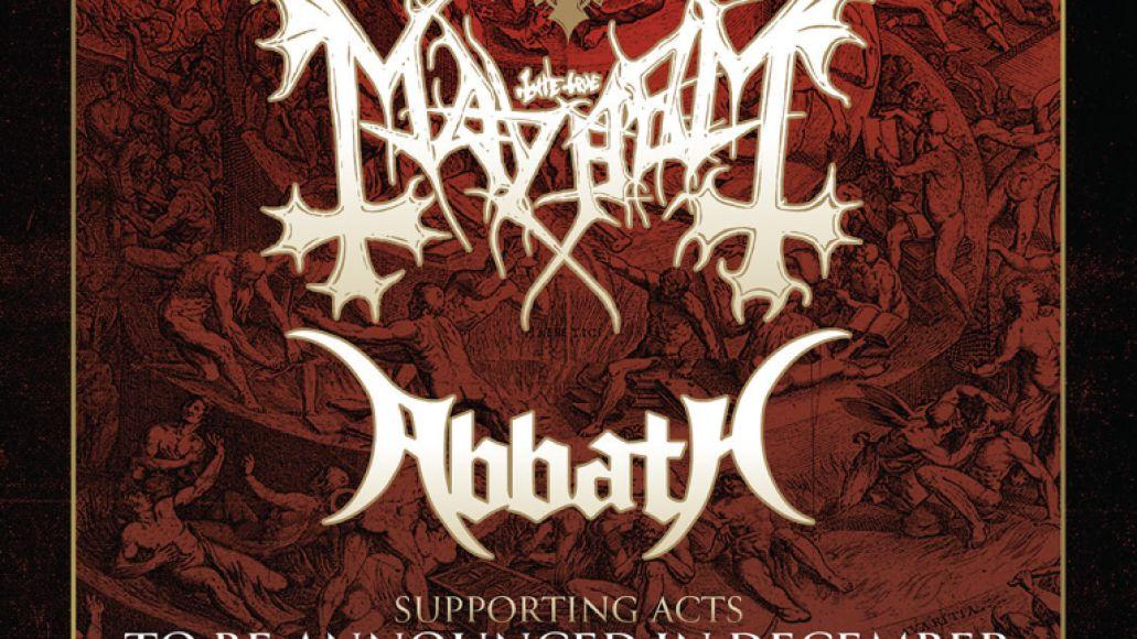 Decibel Mayhem Tour 2020 Poster