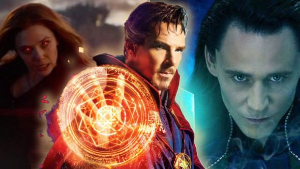 Doctor Strange Loki Scarlett Witch WandaVision Disney+ Marvel Cinematic Universe