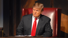 Donald Trump on The Apprentice White House