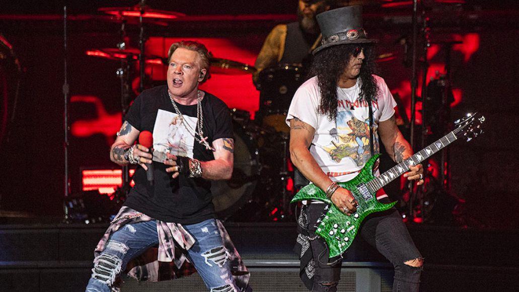 Guns N Roses tour earnings