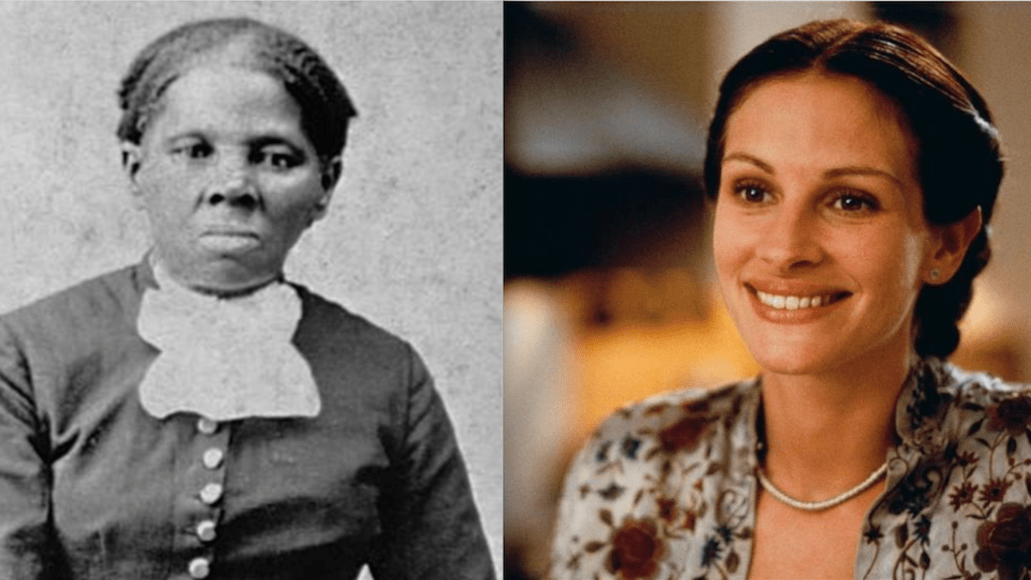 Julia Roberts Harriet Tubman whitewash movie