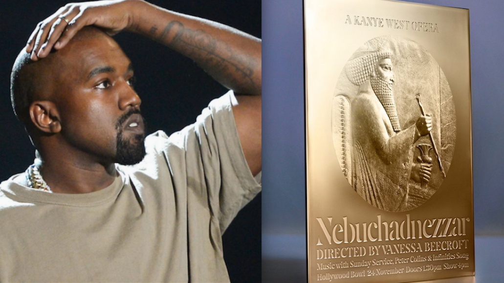 Persian emperor Darius the Great Babylonian king Kanye West and the Nebuchadnezzar opera program