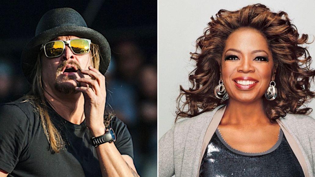 Kid Rock trashes Oprah in drunken rant