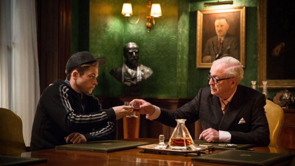 Kingsman: The Secret Service, Taron Egerton, Michael Caine, Comic Book Movie, Fox
