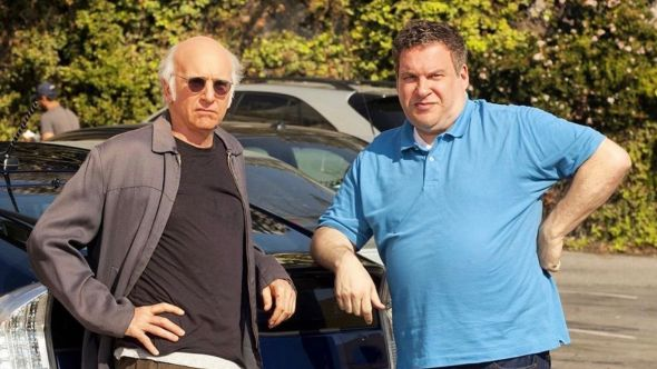 Larry David and Jeff Garlin in Curb Your Enthusiasm