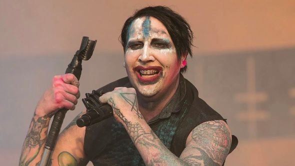 Marilyn Manson mosh pit at hip-hop fest