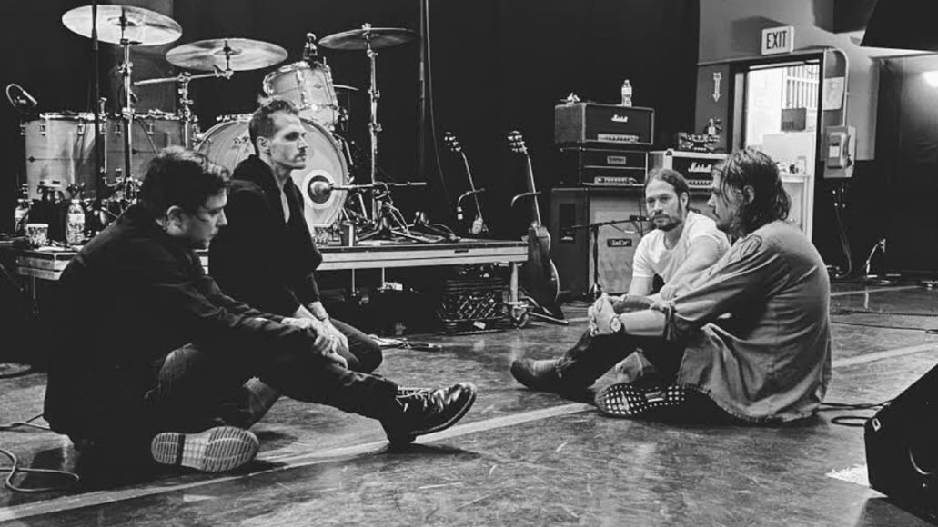 My Chemical Romance in rehearsals