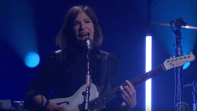 Sleater-Kinney can i go on late late show james corden