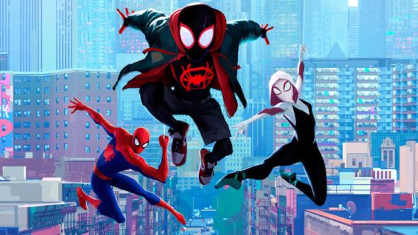 Spider-Man into the Spider-verse animated sequel