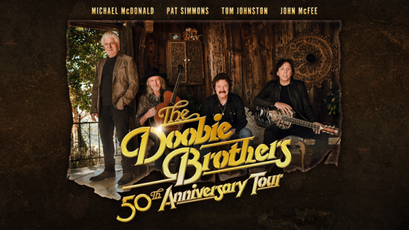 The Doobie Brothers' 50th anniversary tour