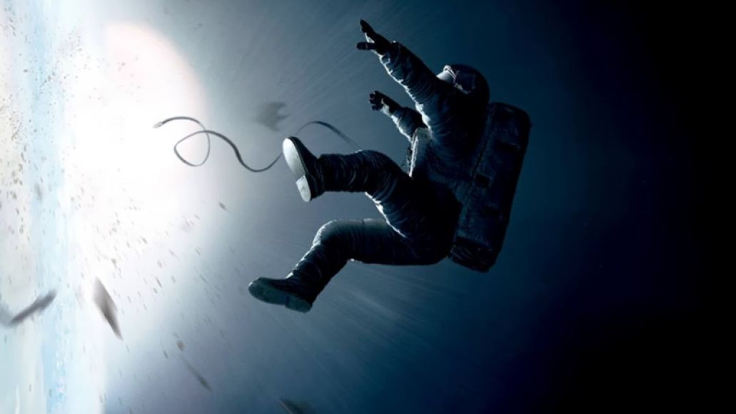 Gravity Original Motion Picture Score, Album Cover, Steven Price
