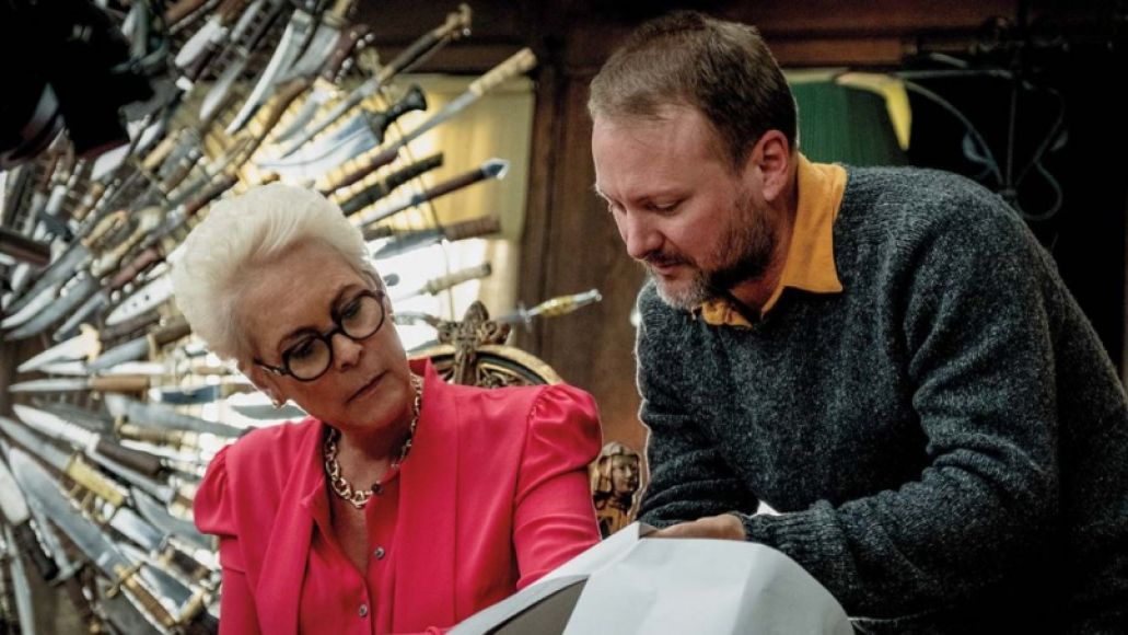 Jamie Lee Curtis, Rian Johnson , Knives Out