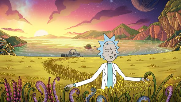 "Rick and Morty Season 4, ""Edge of Morty"" (Adult Swim)"