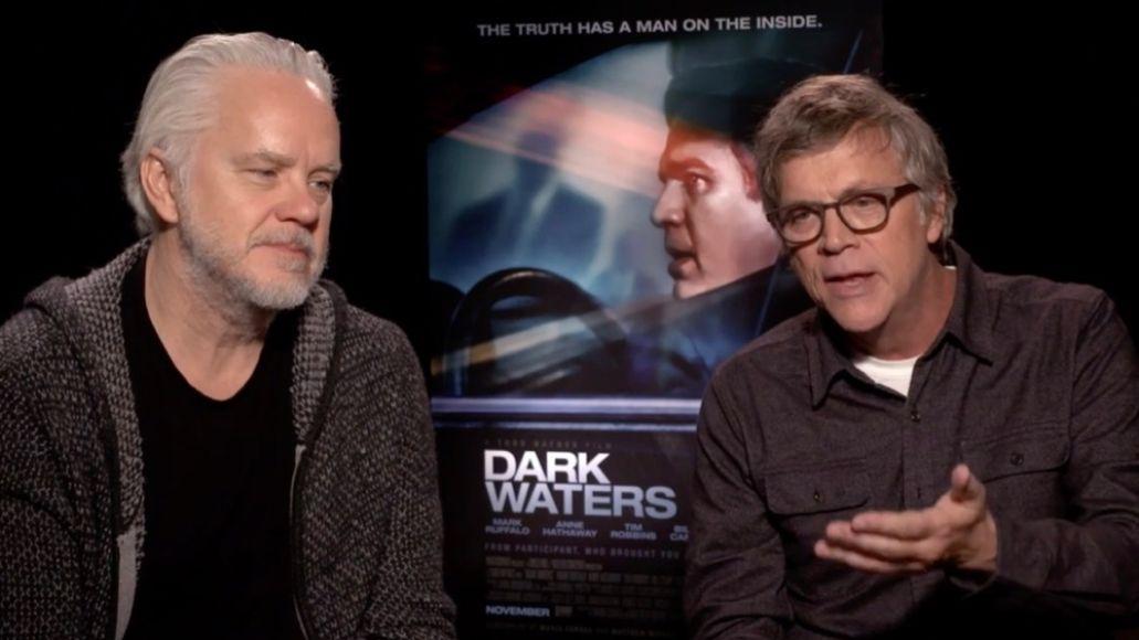 Tim Robbins, Todd Haynes, Dark Waters, Interview, Politics, Video