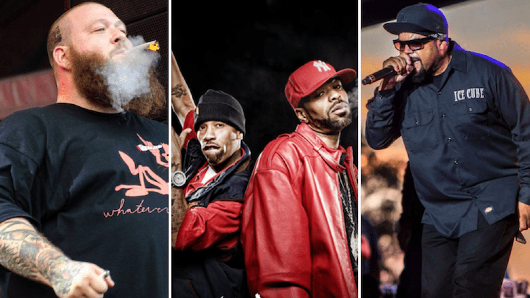 Action Bronson Method Man Redman Ice Cube Red Rocks 420 on the rocks