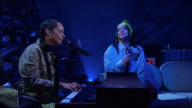 Alicia Keys Billie Eilish Ocean Eyes Duet Cover Stream Watch The Late Late Show James Corden