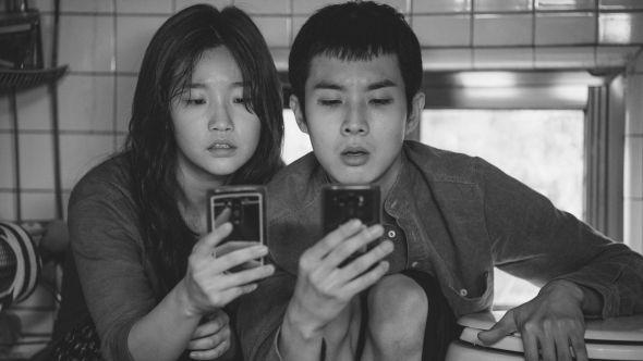 Bong Joon-Ho Parasite black and white version release