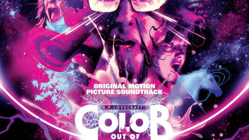 Colin Stetson color out of space soundtrack score nicolas cage trailer album cover artwork